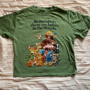 Smokey the Bear shirt